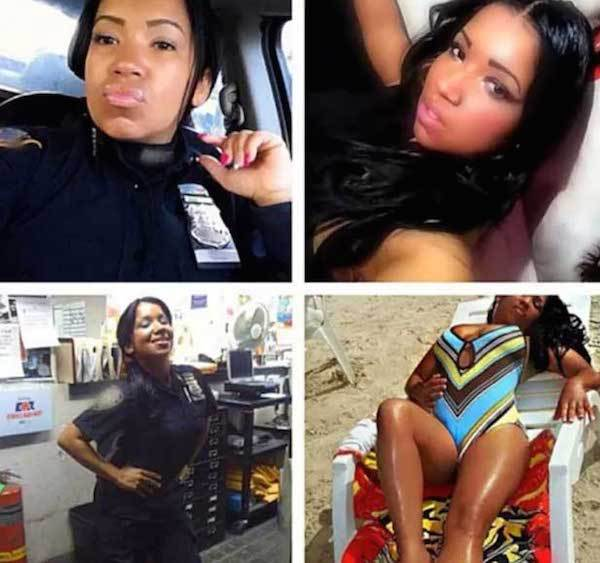 cop 65 Female New York Cops In Trouble For Taking Sexy Selfies