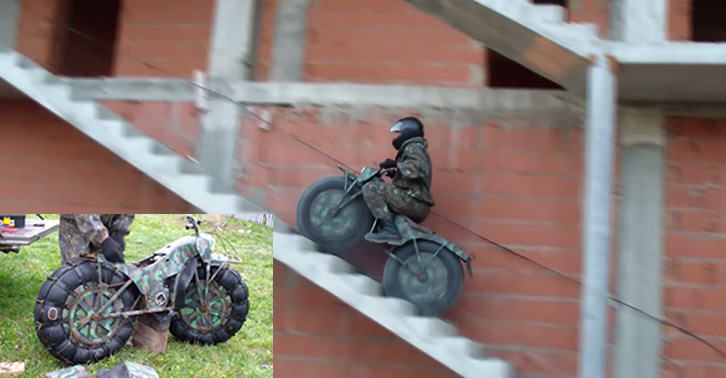 terrainfb This All Terrain Motorbike Shows Russian Engineering At Its Best