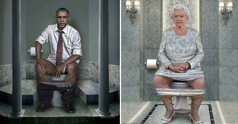 129 World Leaders Doing A Poo Because Why Not