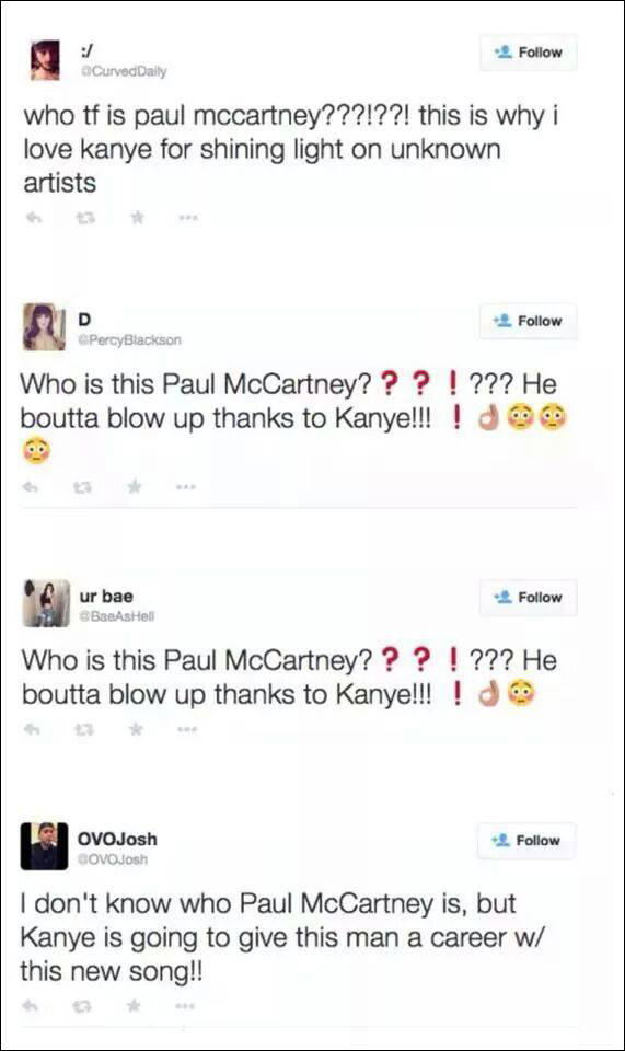 14 Paul McCartney: Everything You Need To Know About Kanyes New Prodigy