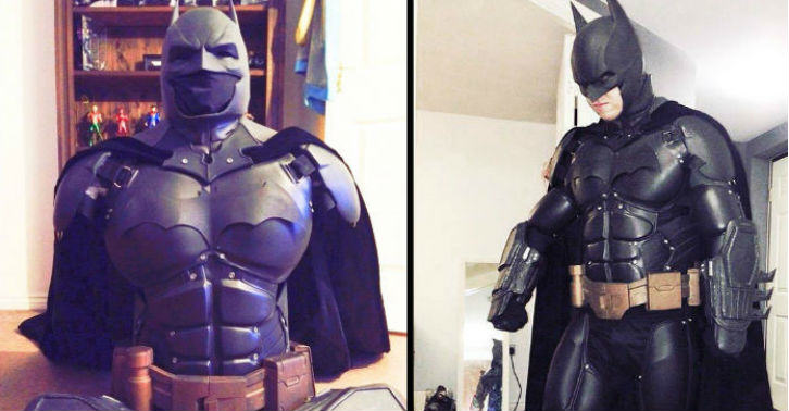 Man Makes His Own Epic Batman Suit With 3D Printer BM web thumb