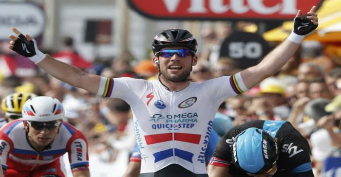 Mark Cavendish Shoots Down Journalist By Asking If Anyone Is F**king His Wife Mark Cavendish of Britain e1421715131216
