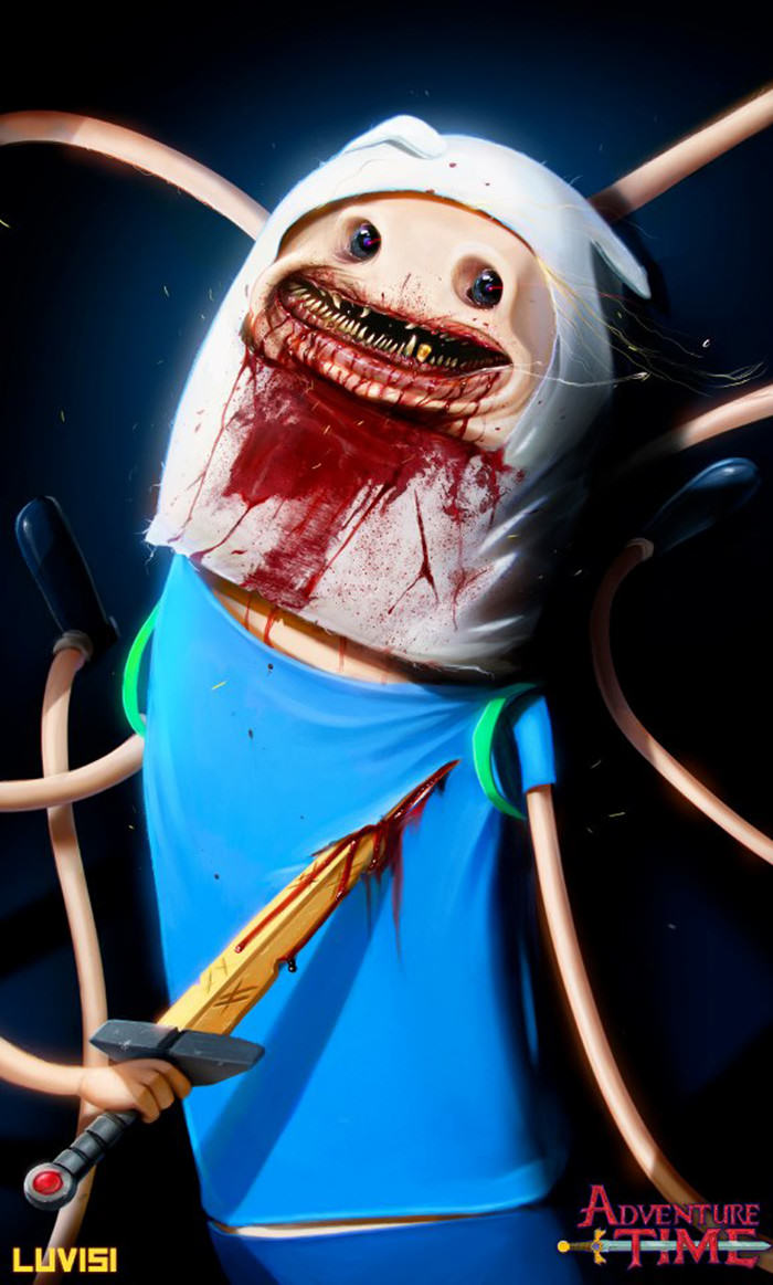 These Disturbing Pictures Will Sh*t All Over Your Childhood adventure time 2