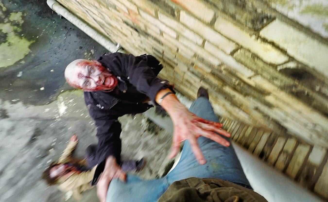 amazing gopro video of zombie es Amazing GoPro Video Of Zombie Escape On Cambridge Rooftops