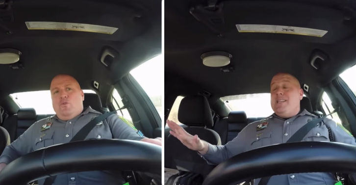 cop fb thumb American Cop Caught Singing Taylor Swift On Dash Cam
