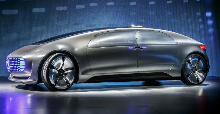 Futuristic Self Driving Mercedes Unveiled At CES 2015 merc fb thumb