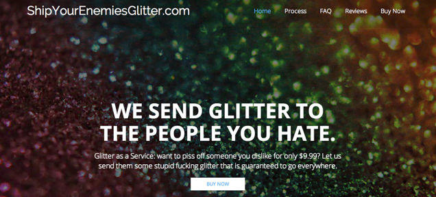 o6rrdq2dwvkz5zljn19r This Website Lets You Glitterbomb Your Enemies For A Fiver