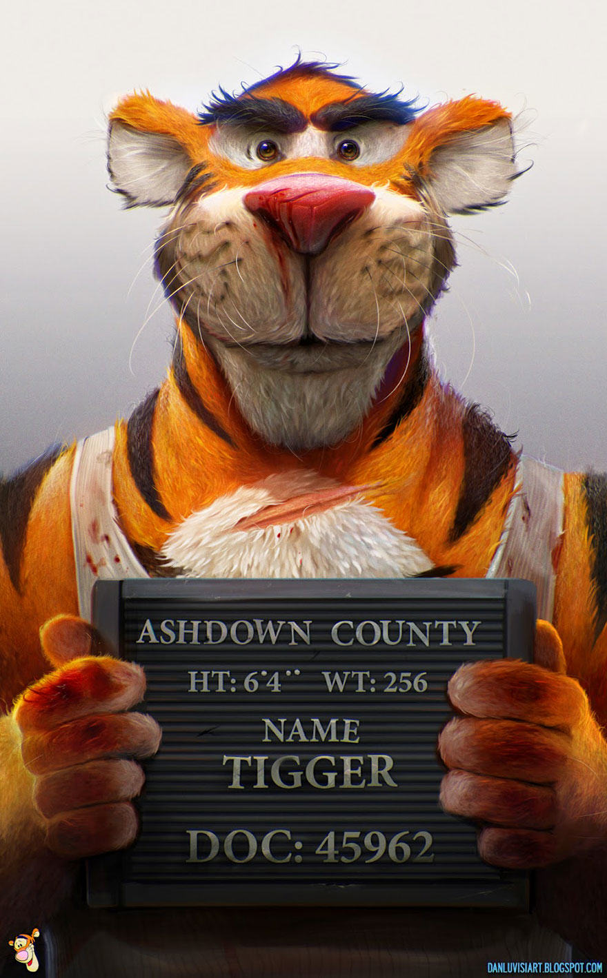 These Disturbing Pictures Will Sh*t All Over Your Childhood tigger