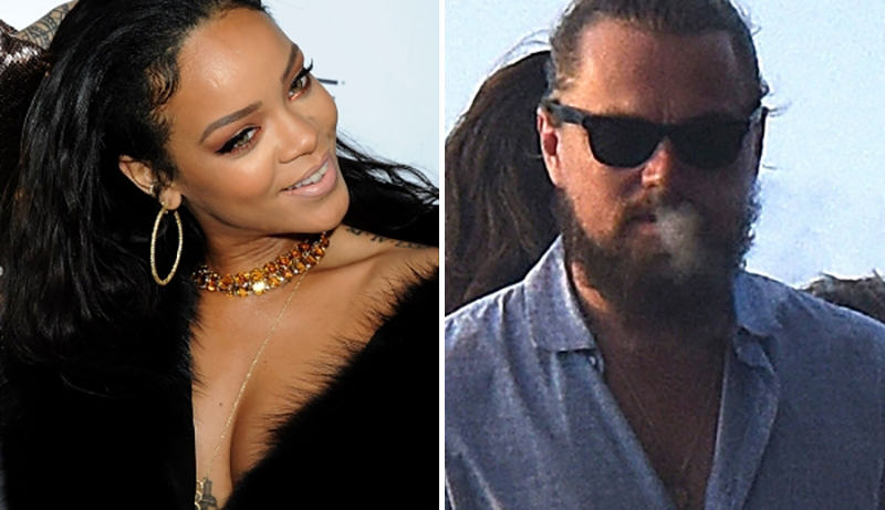 119 Leonardo DiCaprio Pulls A Model In Front Of Rihanna
