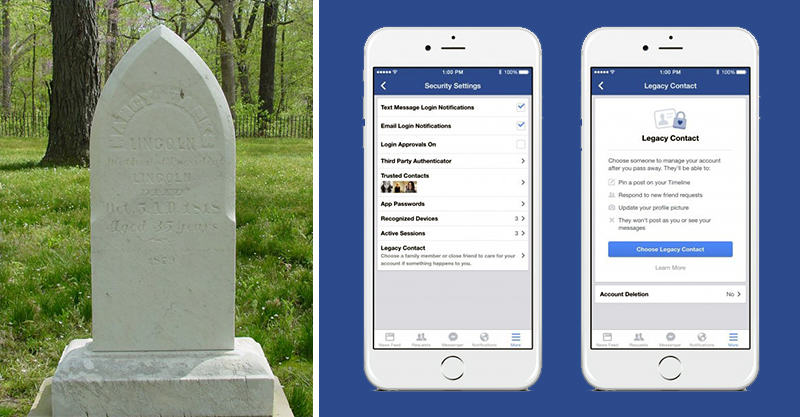 124 You Can Now Pick Who Controls Your Facebook Profile When You Die