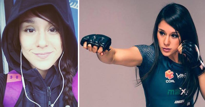 140 This Undefeated Female MMA Fighter Is Also A Hard Working Student