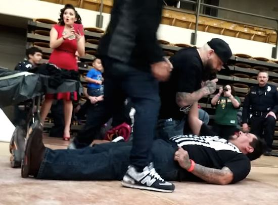 Slap2 Guy Receives Brutal KO During Slap Off Contest, Obviously