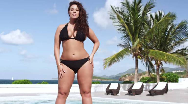 ad 158777773 Meet Ashley Graham, Sports Illustrateds First Ever Plus Size Model
