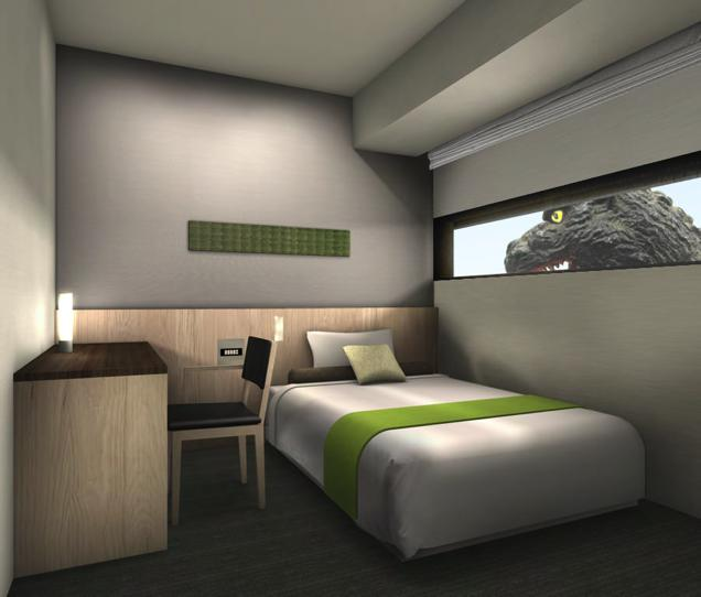 godzilla4 There Is A Godzilla Themed Hotel Opening In Japan