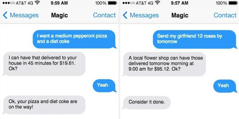 magic This Text Service Will Literally Get Anything Delivered To You