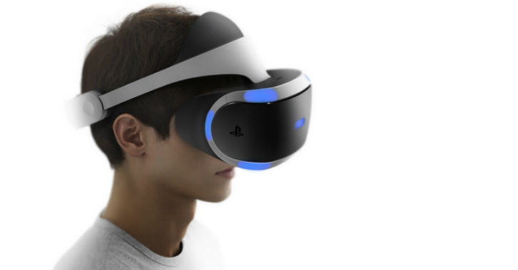 16085757124 b04aa77d55 zthumb The Future Is Here As Playstation Show Off Their New Virtual Reality Headset Prototype