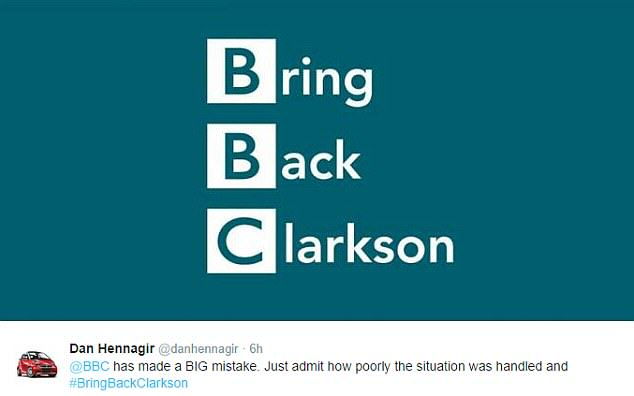 The Internet Reacts To Jeremy Clarksons Suspension 26896C9F00000578 2988412 image a 21 1426076674505