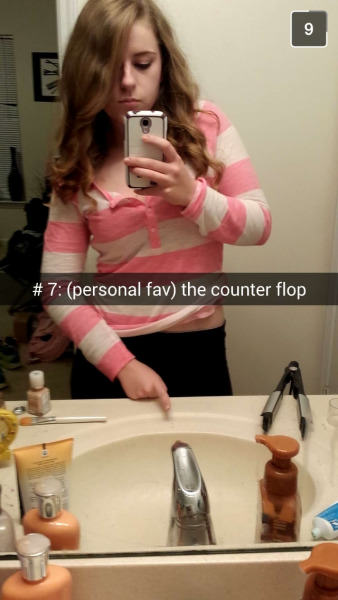 This Girl Made A Snapchat Guide To Taking A Dick Pic 7