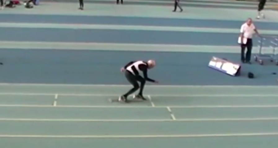This 95 Year Old Man Just Broke A 200m World Record Screen Shot 2015 03 09 at 12.24.46