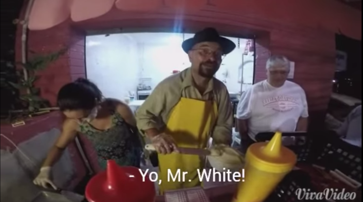 Screen Shot 2015 03 10 at 11.27.28 It Turns Out Heisenberg Is Now Cooking Hot Dogs In Brazil