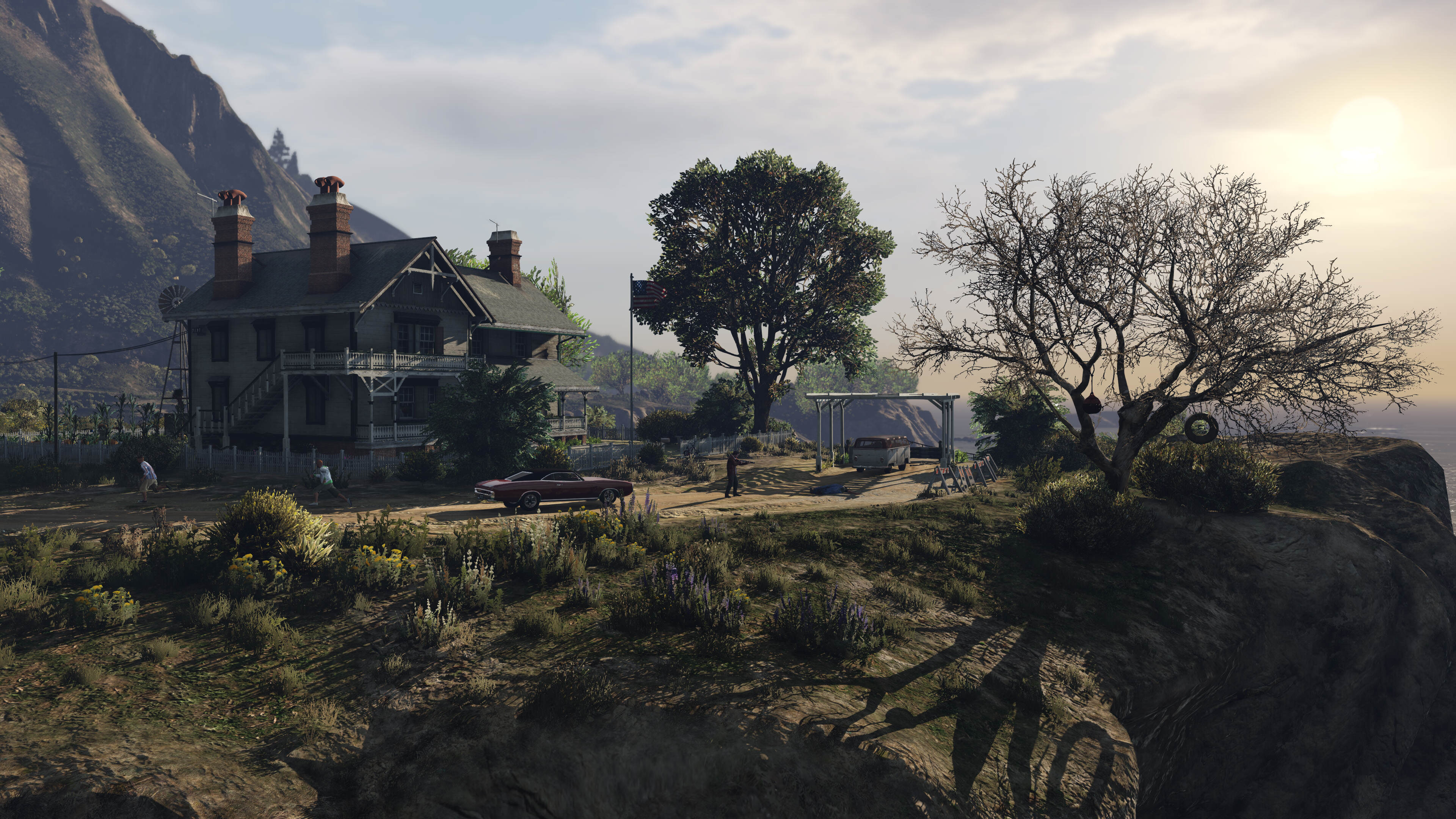 grand theft auto 5s latest pc screenshots sure are a looker 142748242711 Rockstar Release Much Anticipated Grand Theft Auto V PC Screenshots