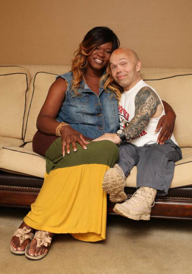 grfedw This 4ft 4in Bodybuilder Has Found Love With A 6ft 3in Transgender Woman
