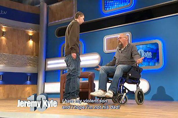 Dad Claims He Would Drive Over Dying Son On The Street In Latest Jeremy Kyle Episode jezza1
