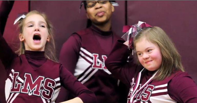 keroshna news Basketball Players Stop Game, Confront Bully Abusing Cheerleader With Downs Syndrome