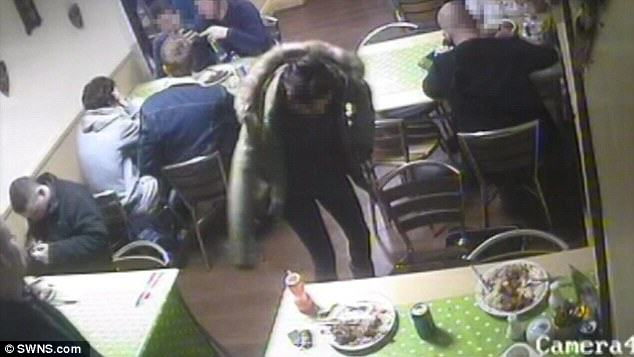 rat1 Guy Doesnt Want To Pay For Meal, Sets Pet Rat Loose In Restaurant