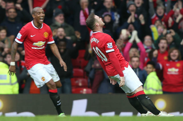 rooney2 The Internet Reacts To Wayne Rooneys Knockout Celebration
