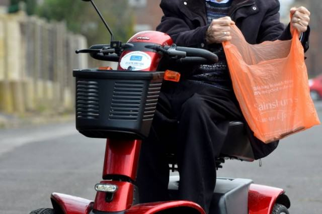 sainsburys 640x426 Sainsburys Ban Pensioner After He Crashes Into Fellow Shopper With Scooter