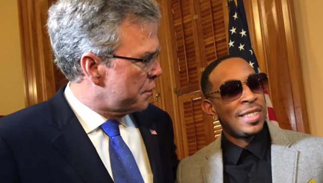 screen shot 2015 03 20 at 7 43 06 am Ludacris Meets Brother Of George Bush, Disses His Family