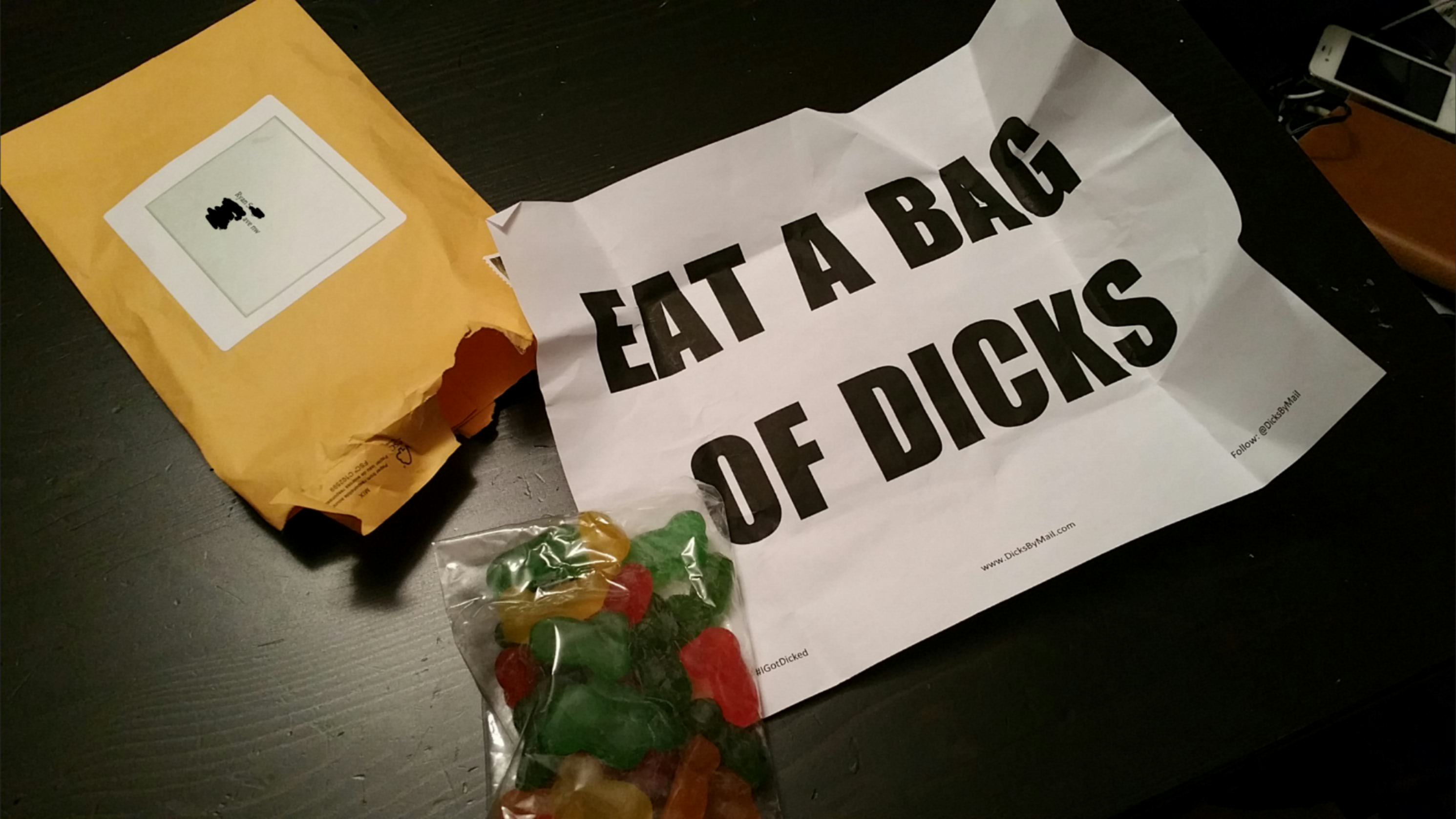 teeloj4 Guy Receives Bag Of Dicks In Mail And He Doesnt Know Who From