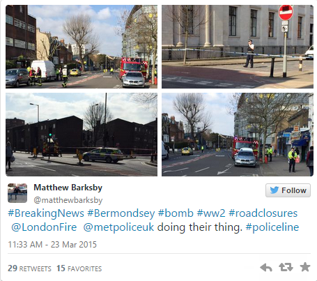 wegtry The Army Are Diffusing A Massive Bomb That Was Found In London Yesterday
