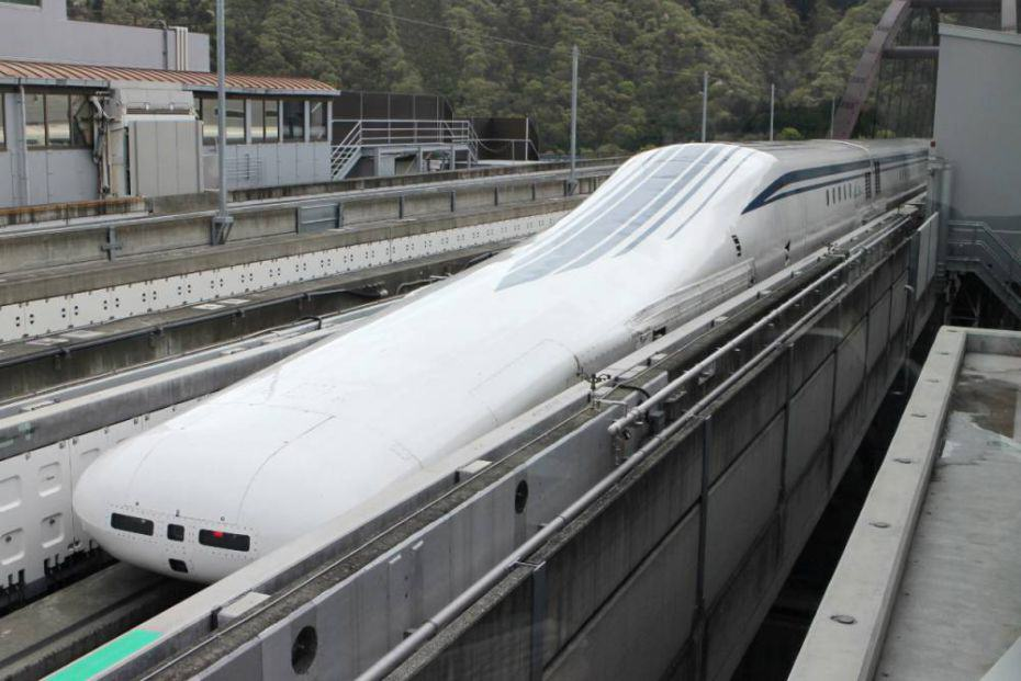 178 Japans New Levitating Train Broke The Speed Record This Week... Again