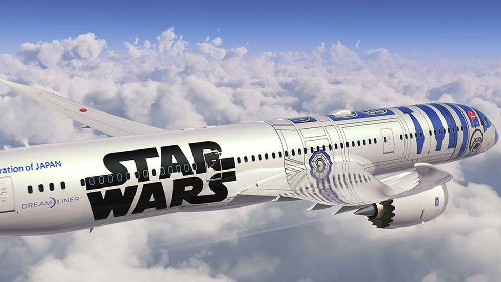 82376911 afp plane1 This Star Wars Plane Is Actually Going To Be Used By An Airline