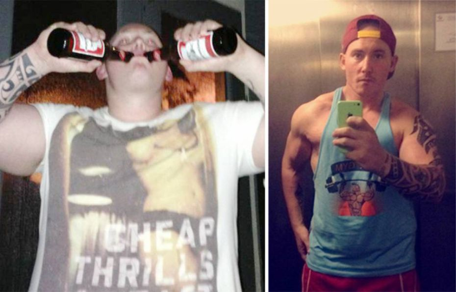 alcohol This Lad Lost 10st After Giving Up Binge Drinking Alcohol