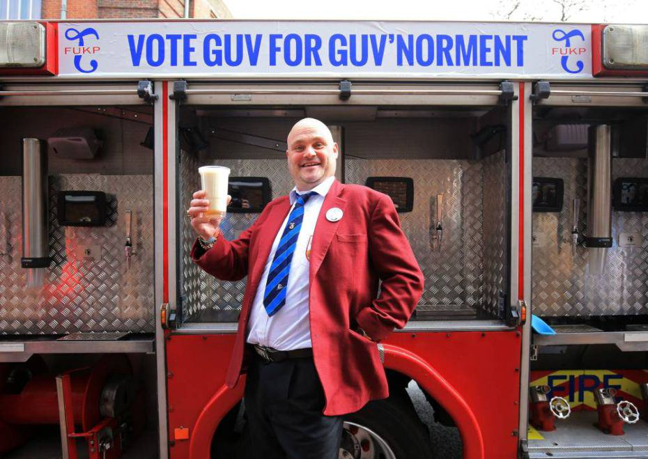 almurray2 Al Murray Is Standing In The General Election, FUKP Is His Party