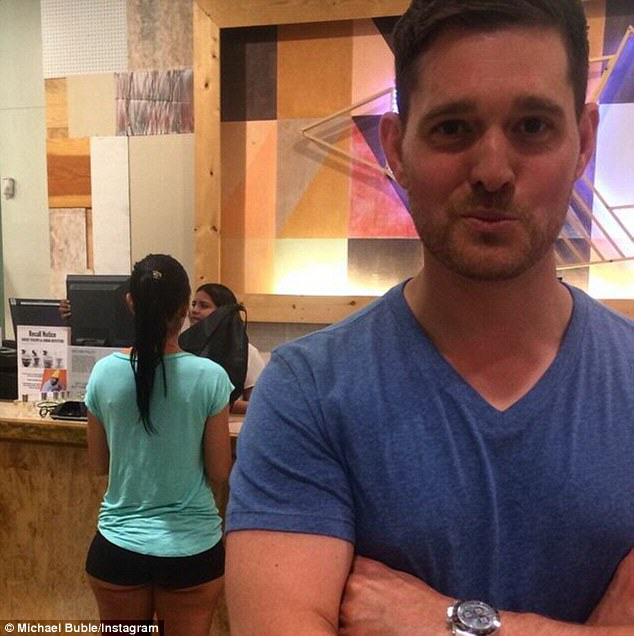 buble2 Michael Buble Finds Himself In Trouble After Instagramming Photo Of Womans Ass