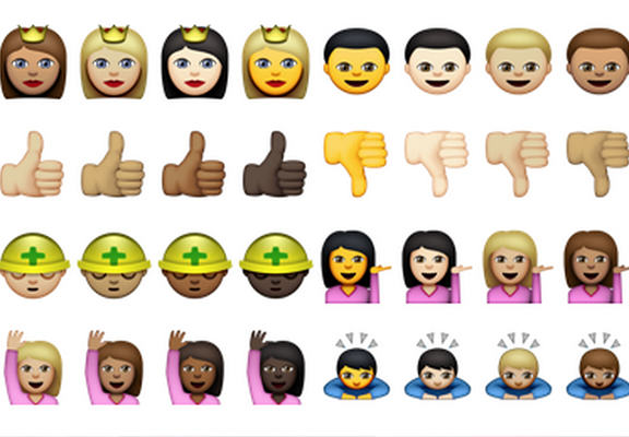 emojiWEBTHUMBNEW Apple Officially Release Racially Diverse Emojis