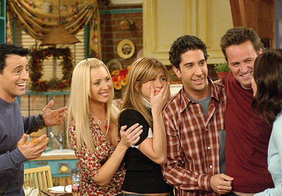 friendsWEBTHUMBNEW Recovered If The Characters From Friends Used The Internet