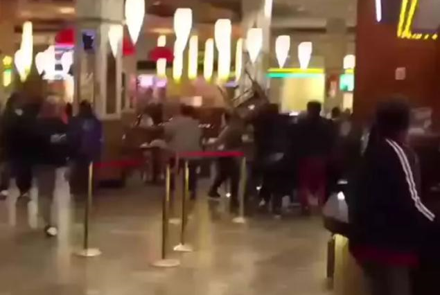 Gang Members Involved In Mass Brawl At Casino In Queens gang 635x426