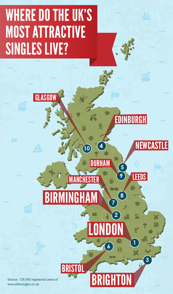 hot uk Check Out Where The Hottest People In The UK Live