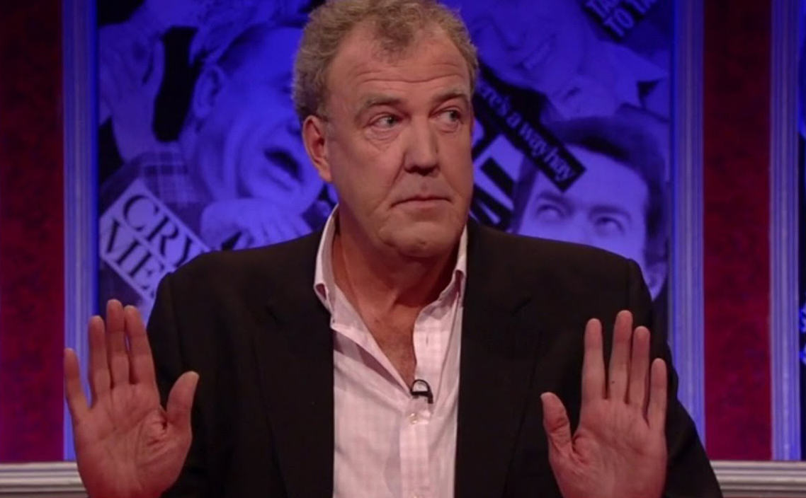 j Jeremy Clarkson In Have I Got News For You BBC Comeback