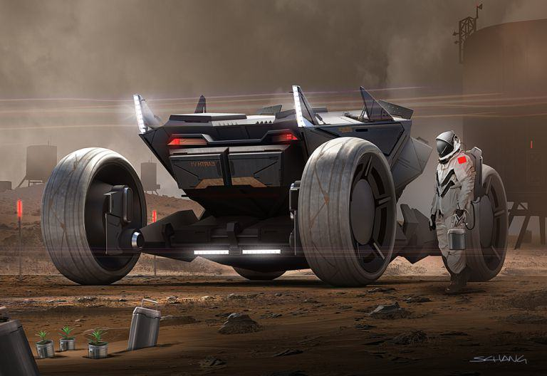 mars 1 Star Wars Designer Shows Us How The Future Of Travel May Look