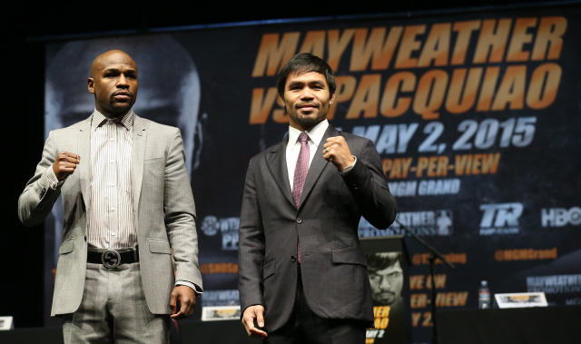 maypac Mayweather Vs Pacquiao Tickets Sell Out In Less Than A Minute