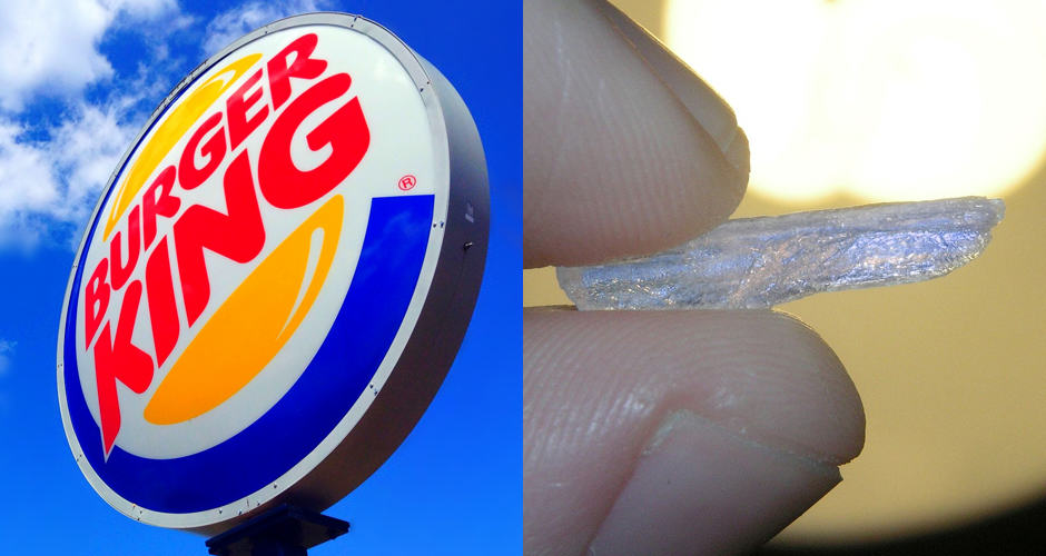 meth Burger King Employee Operates Side Business Out Of Car Selling Meth To Customers