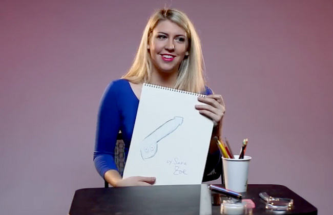 penis Women Are Asked To Draw Their Ideal Penis