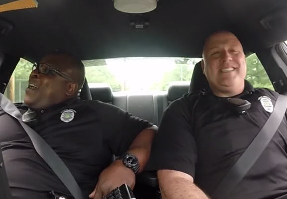 policeweb Police Duo Caught Lip Syncing On Police Dash Camera