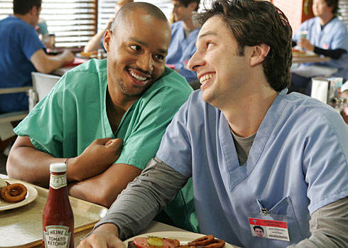 scrubs Scrubs Stars Zach Braff and Donald Faison Will Bring Any Gay Wedding In Indiana Pizza